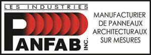 logo Panfab Manufacturier de panneaux architecturaux sur mesures